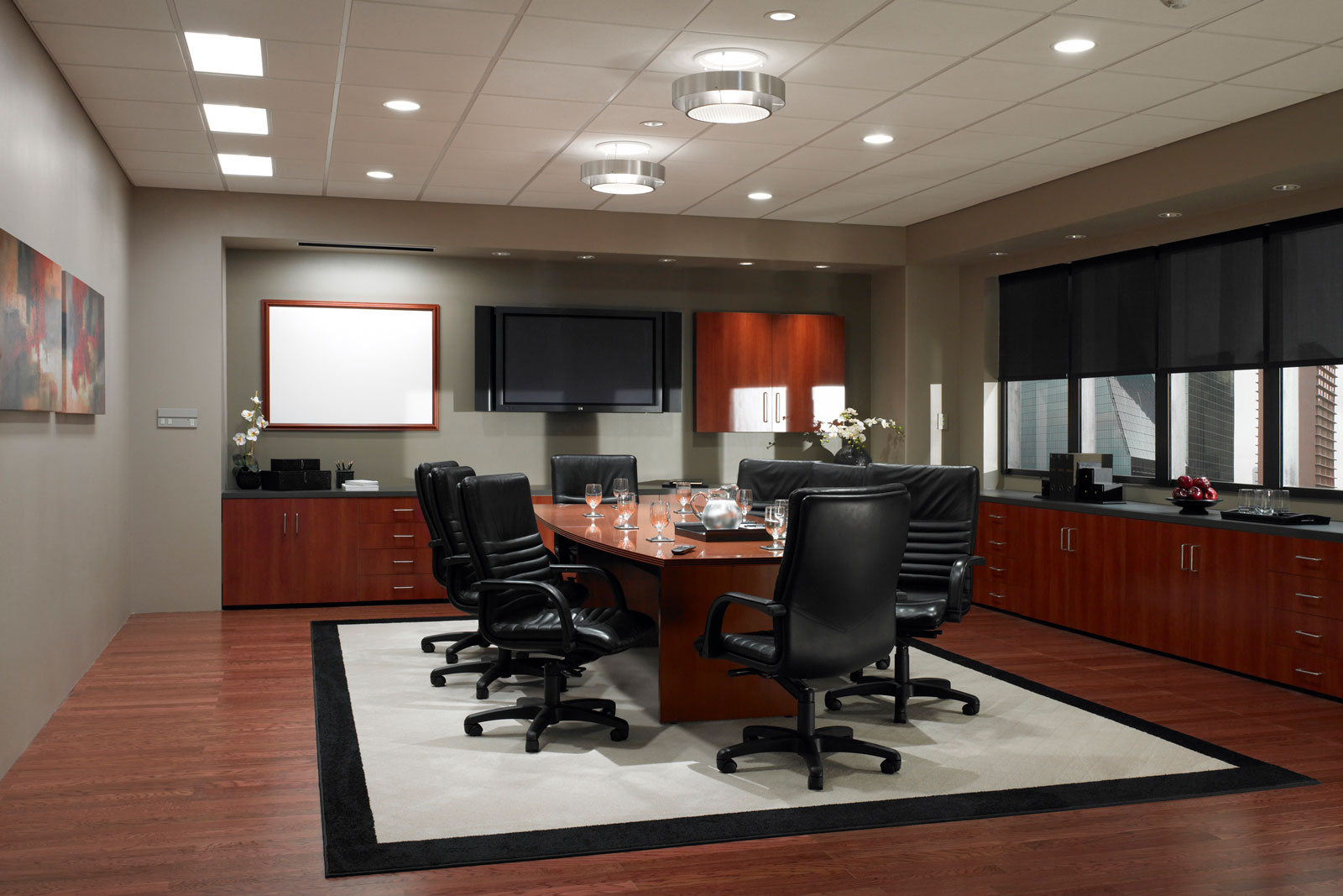 Corporate Conference Room Audio Video AV Installation - Atlanta, GA