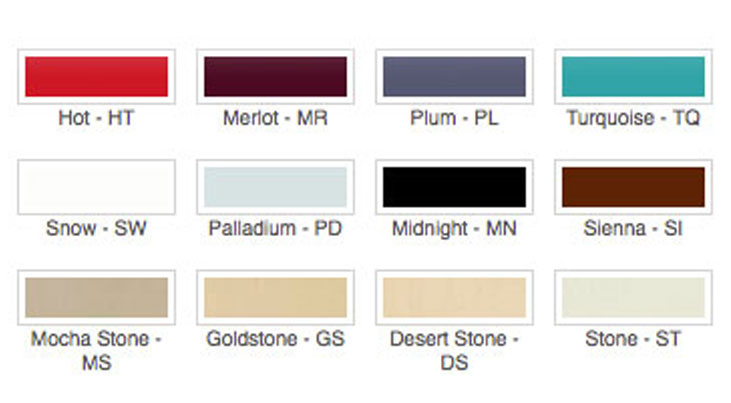 Lutron Color Options